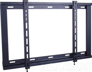 lcd tv wall mount bracket fixed type 42 55. Black Bedroom Furniture Sets. Home Design Ideas