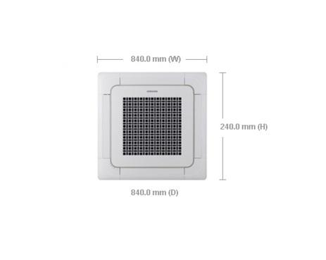 SAMSUNG NS-1454DXBA 5 0HP Inverter Ceiling Cassette Aircon