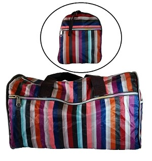 FOLDABLE TRAVEL  BAG - MEDIUM