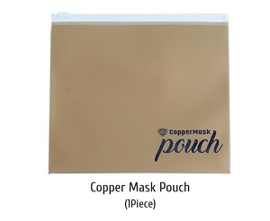 Copper Mask Pouch