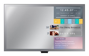 SAMSUNG ML55E 55inch MIRROR DISPLAY  (LFD MONITOR)