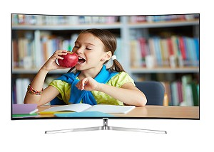 (SOLD OUT) SAMSUNG UA-55KS9000 55inch  SUHD Curve Smart TV (Series 9)